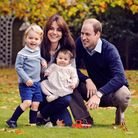 The Duke and Duchess of Cambridge with their two children, Prince George and Princess Charlotte. Pic