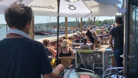 The festival is being held on the banks of the River Deben in Woodbridgethis weekend