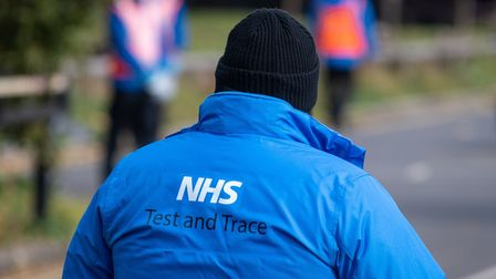 NHS Test and Trace staff