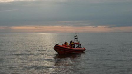 Lifeboat volunteers came to the aid of a power boat in The Wash. Picture: Hunstanton RNLI Lifeboat