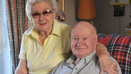 Elsie Nash pictured with her husband Bill a few years ago. PHOTO: ANTONY KELLY