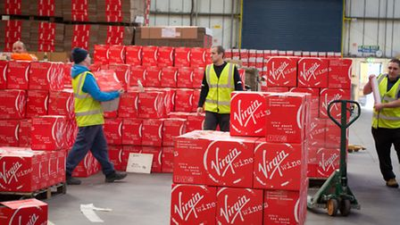Virgin Wines are gearing up for a record Christmas and have employed an additional 80 staff to cope