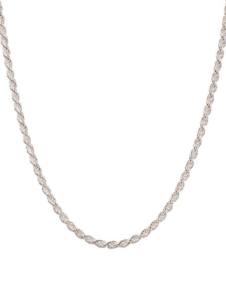 Silver Rope Chain, £65, by Emily Mortimer Jewellery