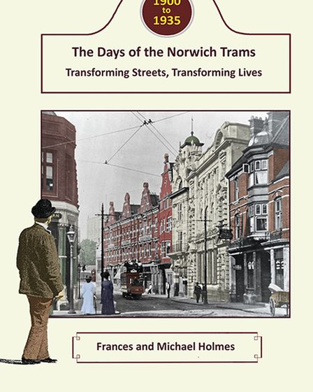 Book Cover for The Days of Norwich Trams.