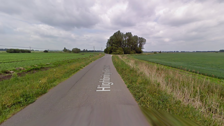 A man has been rescued from a van after a collision with a tractor