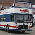 Open top bus rides on this open top Bristol VR owned by Mark Judd of MR Judd Commercials.