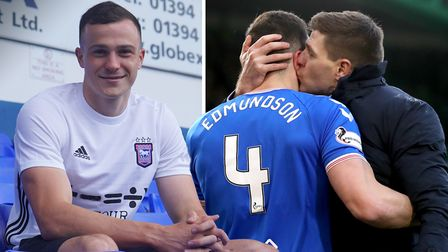 Ipswich Town have signed defender Ryan Edmundson from Rangers on a four-year deal