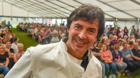 A number of chefs will be making appearances over the three days of Sandringham's food, craft and wood festival next weekend