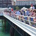 The World Pier Crabbing Championships at Cromer. Picture : ANTONY KELLY