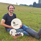 Jonny Crickmore of Fen Farm. His dairy farm will play host to a four-night series of pop-up dining events
