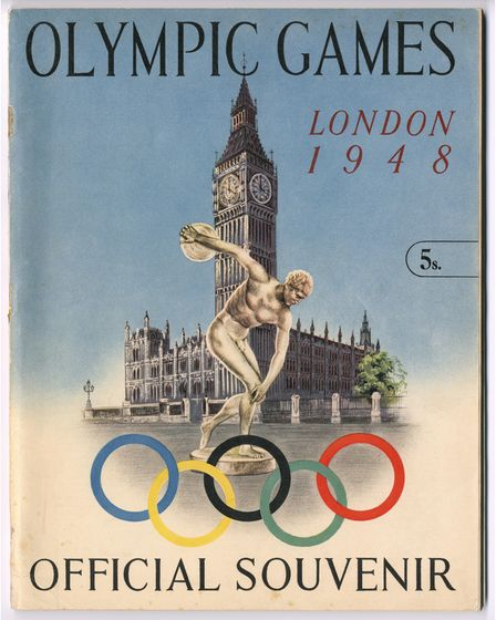 Thesouvenir guide for the 1948 Olympic Games