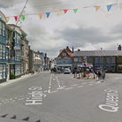 A woman was taken to hospital following a collision in Southwold