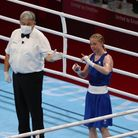 Charley Davison takes the unanimous decision on her Olympic boxing debut.
