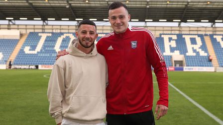 Conor Chaplin and George Edmundson are Ipswich Town's newest signings