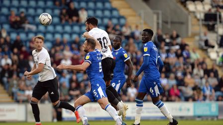 Macaulay Bonne scores Ipswich's second at Colchester United