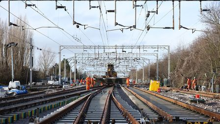 The work in Soham will affect services between Bury St Edmunds and Ely on both Sunday 29 and Monday August 30.