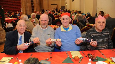 The Open Christmas Dinner at St Andrews Hall could not happen without dozens of volunteers. Picture