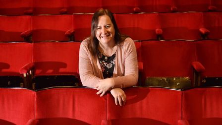 Karen Read, manager of the Seagull Theatre in Pakefield. Picture: Sonya Duncan.
