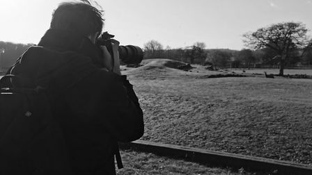 Alfie spends time at East Anglian wildlife parks snapping his shots