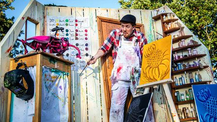 The Puppet Van - The Lost Colour is one of the shows at The Workshop at The Walks.