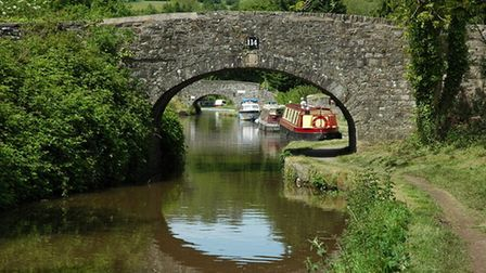 Bridge 114 on the monmouthshire and brecon canal