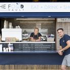 Staff at the new Food Vault cafe at Broom Boats in Brundall