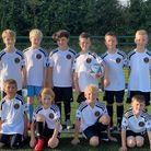 The newly-formed Doddington under-10s team ready for their first season after benefitting from a Team Sports award.