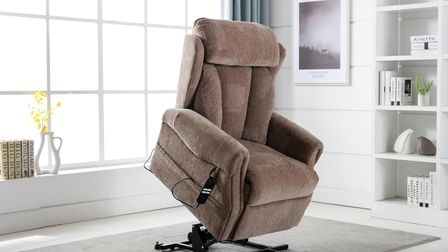 The Georgialift and rise chair, available from Aldiss