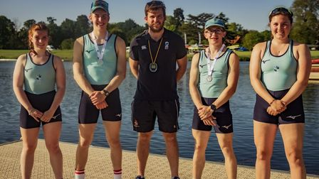 King's Ely students are celebrating a 'fantastic' rowing season after Holly Burke and Mia Gray also made the finals.