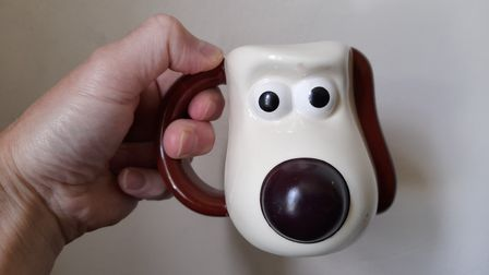 PG Tips gave this Wallace & Gromit mug away for free in 2005 - it's now worth around £20