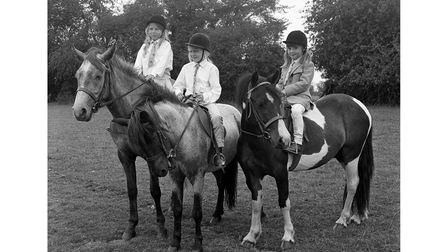 Earl Soham Fete and Gymkhana in August 1970