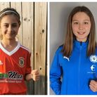 Neale-Wade Academy students Ruby and Holly aim to become an England Lioness