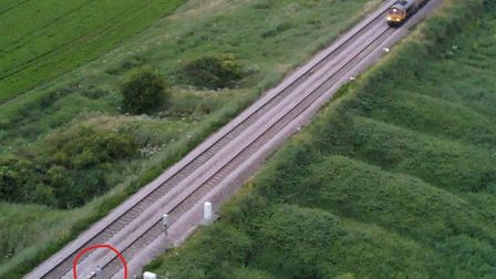 Drones were used by Cambridgeshire Constabulary to locate a missing 15-year-old girl, who they found on the tracks in Manea.