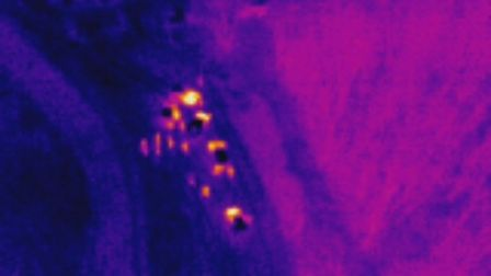 Cambridgeshire police's drones are fitted with the latest high-definition cameras and thermal imaging technology.