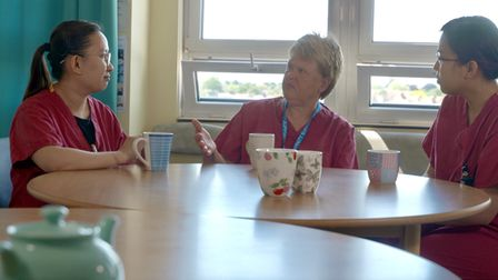 Staff from around the world help provide care at Ipswich and Colchester hospitals