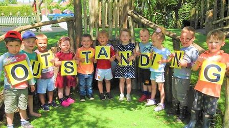 Emneth Nursery School is among the Cambridgeshire schools rated outstanding by Ofsted.