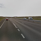 A broken down lorry caused delays on the A14