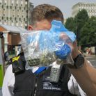 Police uncover drugs stashdumped in Roman Road