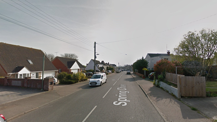 A 21-year-old is in a life threatening condition after sustaining a head injury in a crash