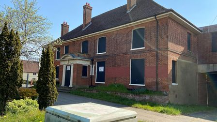 The former Melton Hill offices in Woodbridge have been empty for five years