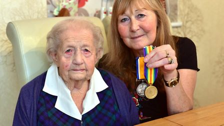 Medals belonging to Bertie Muteham have been returned to his family in Thetford after they won them