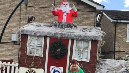 Whittlesey residents treated to Father Christmas visit