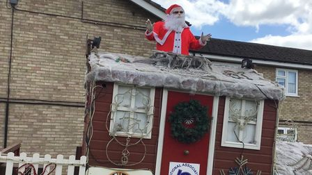 Whittlesey residents see Santa arrive in early Christmas event