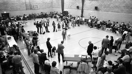 Did you compete in the dog show at the Whitton Sports Centre in 1984? Picture: OWEN HINES