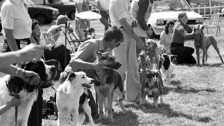 Fun and games at Martlesham village fete and dog show in June 1983 Picture: JOHN KERR
