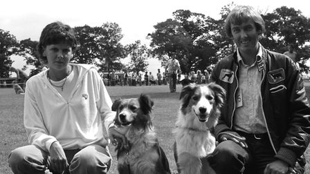 From The Archivest WestWest Suffolk Dog Show at Walsham le Willows August 1979