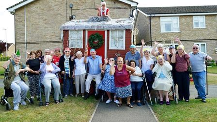 Whittlesey residents welcome Father Christmas