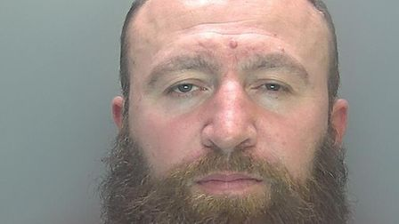 Drug dealer Sheptim Uruci (pictured), 41, of Rayson Way in Cambridge, has been jailed for more than five years.