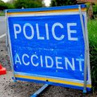 Police, ambulance and the fire service rushed to a four-car crash on the A146 on Friday afternoon.