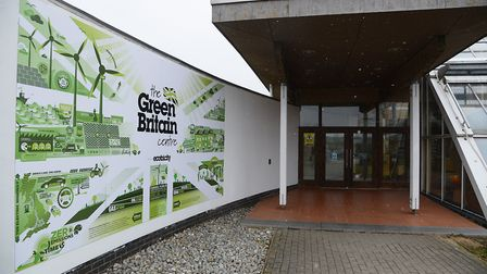 The Green Britain Centre, Swaffham, closed unexpectedly in 2018. Picture: Ian Burt